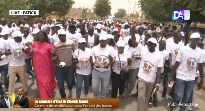 Programme de recrutement de 65 000 jeunes : le Dr Cheikh Kanté actionne une caravane de sensibilisation sur l'emploi et l'insertion de jeunes de Fatick.