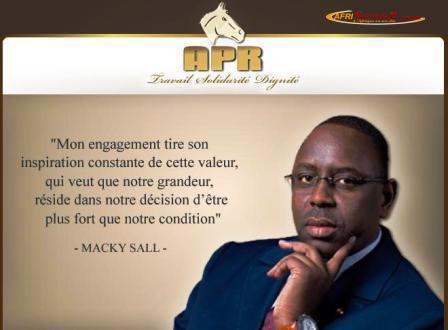 « Socé Fepp » : La Directrice de l'Agence de la construction ambitionne de bâtir l'Apr auprès de Macky Sall
