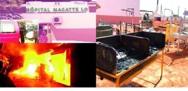 Incendie à l'hôpital Maguette Lo de Linguère : contrôle judiciaire contre l'ex Directeur, le Dr Abdou Sarr et deux de ses ex-collègues.