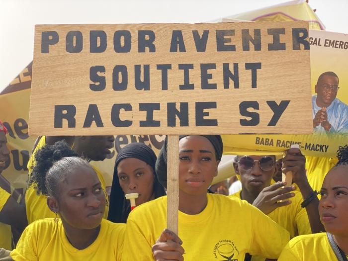 Tournée économique du chef de l'État à Podor : Le mouvement ALSAR, massivement présent pour accueillir le président Macky Sall.