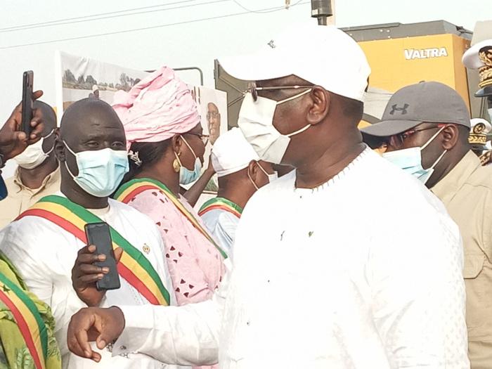 Visite dans le casier rizicole de Fanaye : Le président Macky Sall décide de reproduire le modèle dans l'ensemble du département.