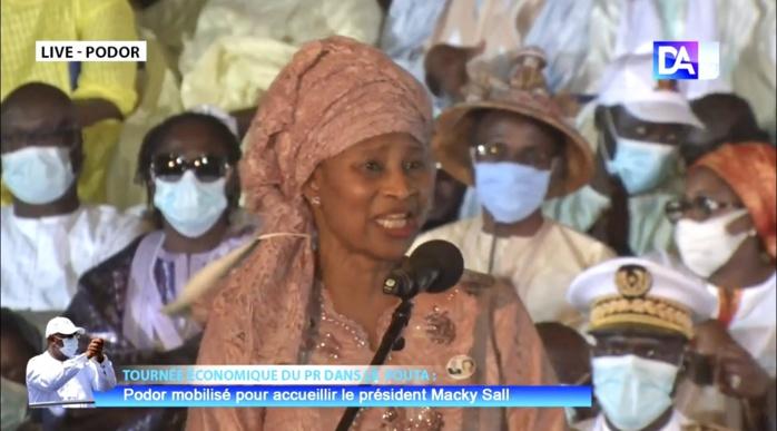 Aissata Tall Sall au Président Macky Sall:« Voilà que vous désenclavez Podor et lui rendez ainsi sa place qu'elle mérite. Podor vous exprime sa reconnaissance... »