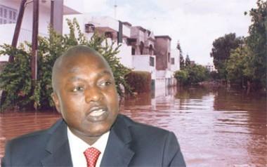 """""""L'Etat a trouvé un plan directeur concernant les inondations qui sera bouclé en février 2013"""" dixit Oumar Guèye"""
