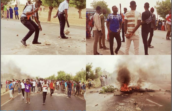 Kaolack : Affrontements entre étudiants de l'Ussein et forces de l'ordre... Plusieurs arrestations enregistrées.