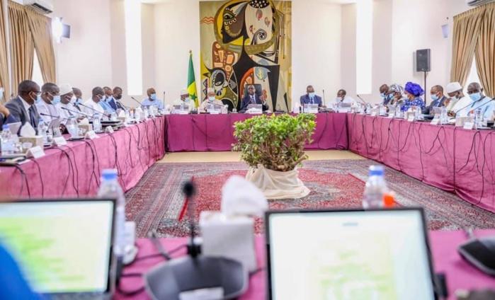 Communiqué du conseil des ministres du mercredi 16 Juin 2021.