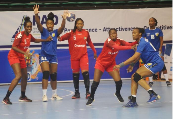 CAN Handball féminine : Après l'élimination, les Lionnes se contentent de la 5ème place.