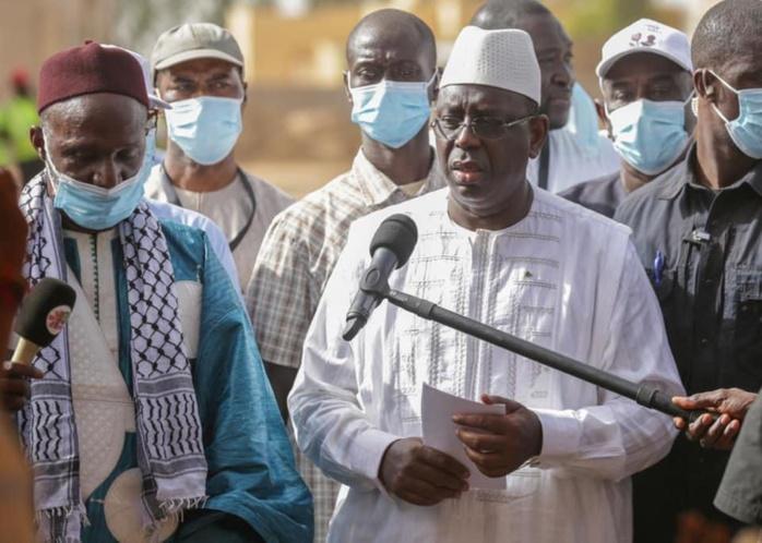 Ganguel Soulé / Le président Macky Sall rend un hommage à Cheikh Moussa Camara : «Il était un grand partisan du dialogue et fervent défenseur de l'unité des religions»