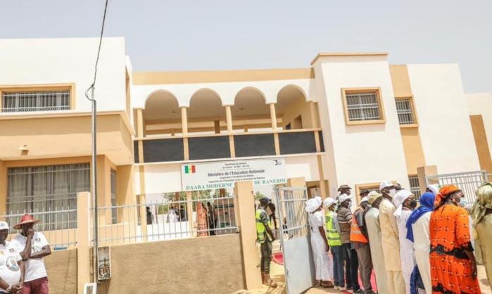 Ranérou : Le président Macky Sall inaugure le Daara moderne public.
