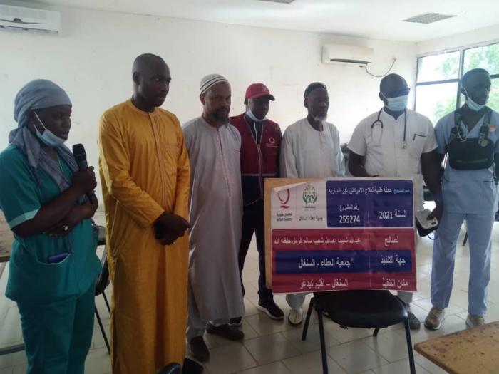 Kédougou / Santé : Mamadou H. Cissé offre aux populations une journée de consultation et de prise en charge gratuite.