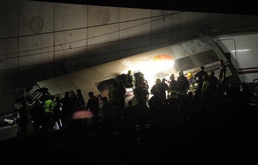 Espagne: 35 morts dans le déraillement d'un train