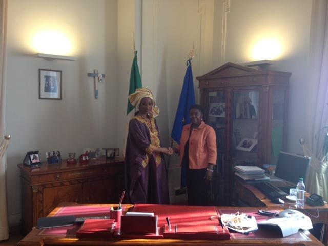 Visite du Ministre des sénégalais de l'Extérieur en Italie