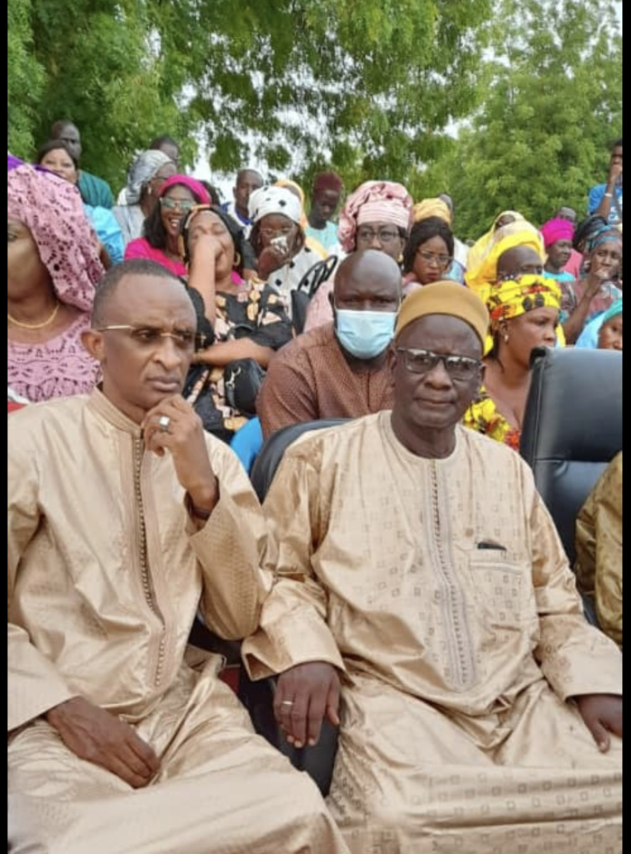 "Meeting ""Sargal"" à Kaffrine : Abdoulaye Seydou Sow accueilli en grande pompe à Gniby."