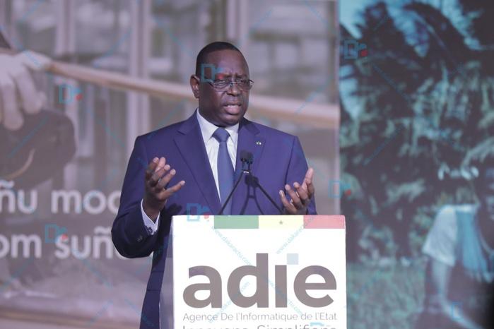 Inauguration Datacenter Diamniadio / Macky Sall catégorique : « Je ne voudrais plus voir les autres sociétés nationales développer leurs propres Datacenters...une dispersion des moyens et energie »