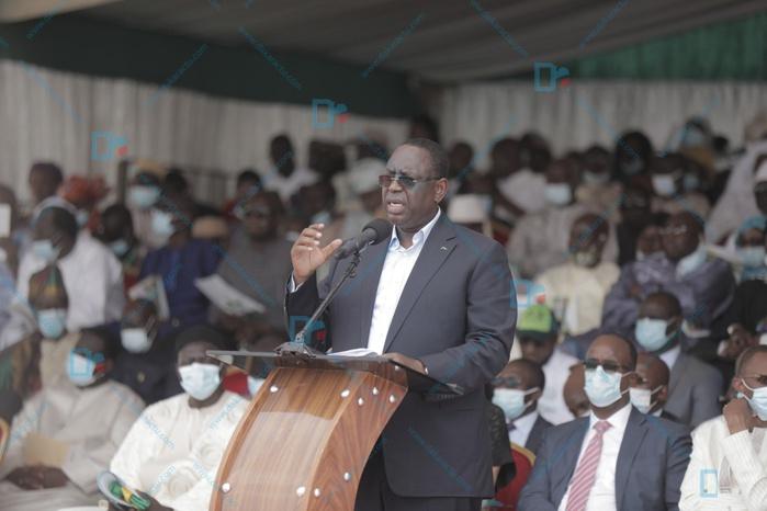 Lancement du PROMOGED à Mbeubeuss : «Le projet devra ainsi contribuer à l'éradication des décharges sauvages» (Macky Sall, Chef de l'État)
