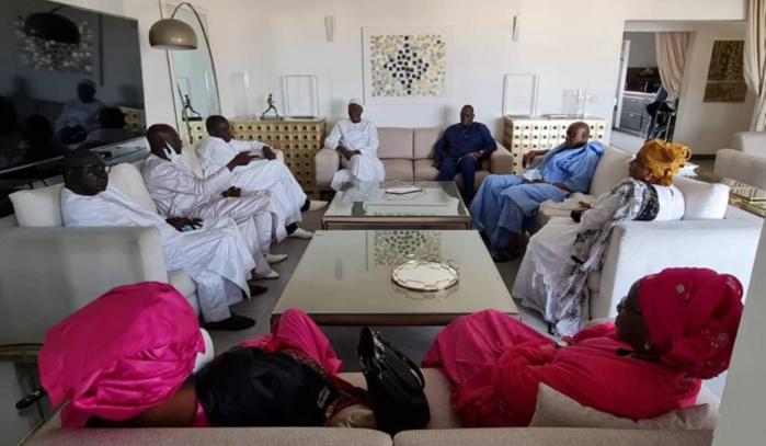 Visite : Le président de la République chez Khalifa Sall.