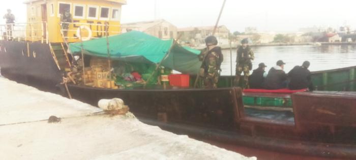 Trafic international de stupéfiants : Le navire transportant du haschich est intercepté hier dimanche a accosté ce lundi