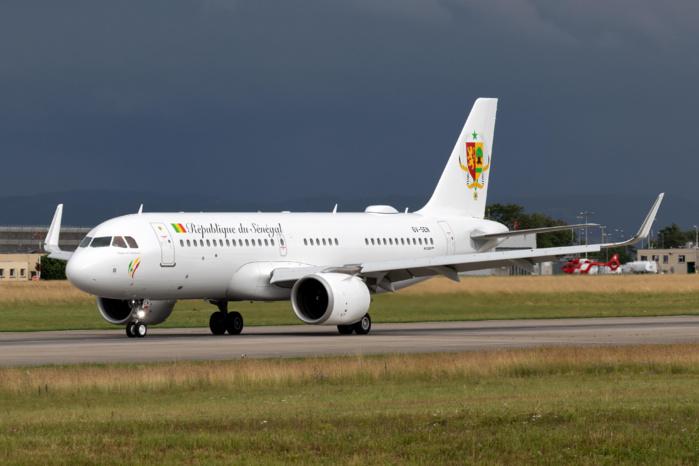 Les images du  nouvel Airbus ACJ 320neo du Gouvernement du Sénégal