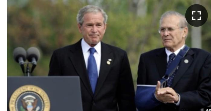 Donald Rumsfeld, ancien chef du Pentagone, est décédé