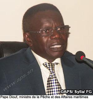 Le bateau échoué au large de Dakar ne présente pas de danger, selon Pape Diouf