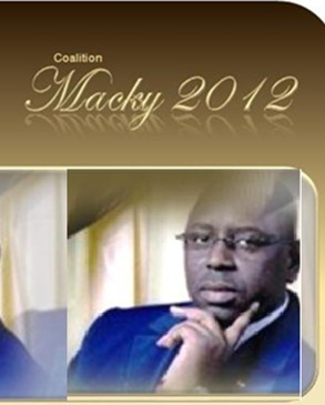 "Communiqué  de presse de la ""Coalition Macky 2012"""