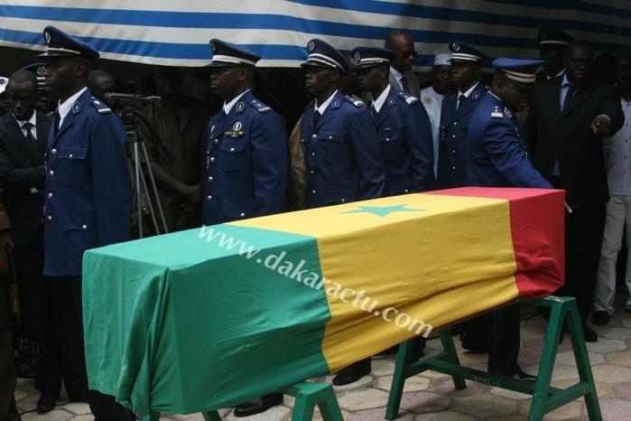 Les images de la levée du corps de l'adjudant Boubou Sy