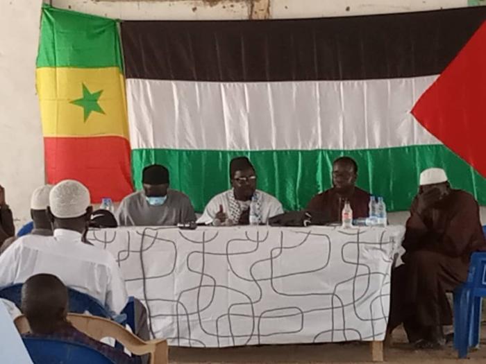 Mbour : L'appel de l'Alliance nationale pour la cause Palestinienne à la communauté internationale.