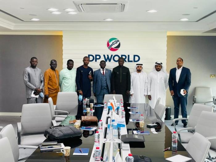 Expo Dubaï 2020 : Voici les photos de la séance de travail du commissariat général du Sénégal à l'Expo et DP WORLD