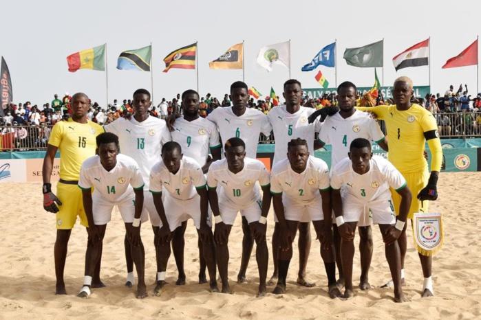 """Championnat du monde de Beach Soccer : Les """"lions de la plage"""" tombent dans un groupe relevé."""