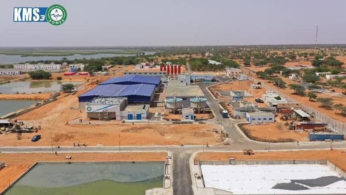 Inauguration de KMS 3 : La distribution d'eau potable va se renforcer avec une capacité de 200 000 m3 par jour.