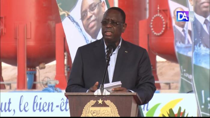 Réalisation KMS3 : Le président Macky Sall fait le bilan des investissements et des résultats obtenus.