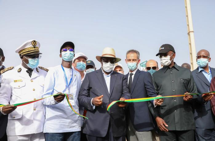 Les images de l'inauguration du KMS3 par le chef de l'état Macky Sall