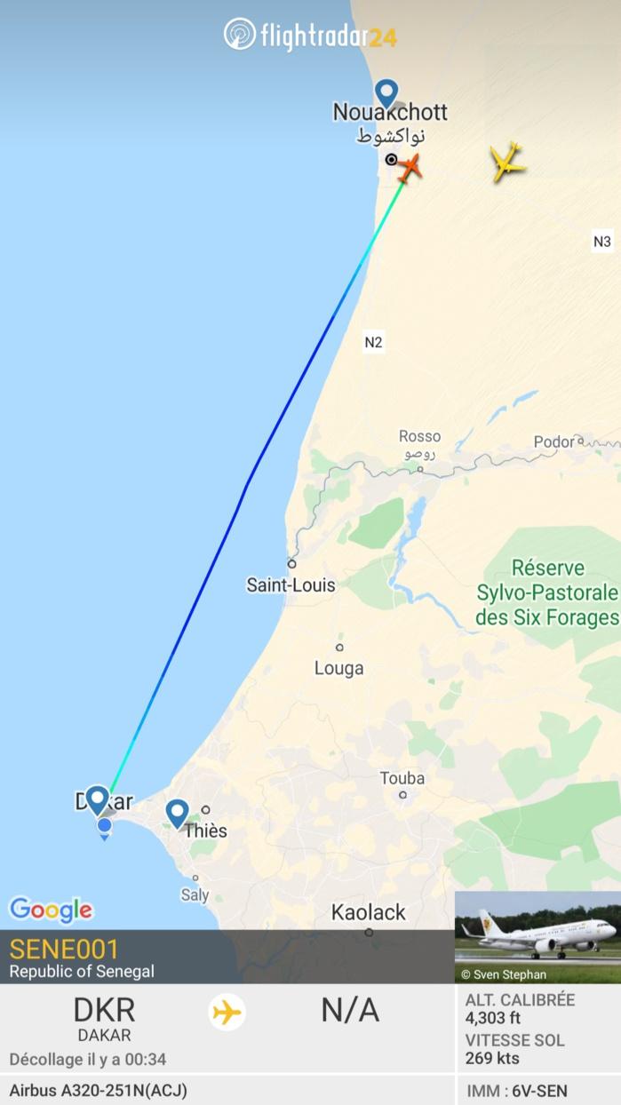 Visite d'amitié de 48h en Mauritanie : le Chef de l'État Macky Sall en pays voisin
