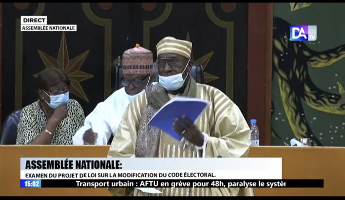 Abdoulaye Makhtar Diop : «L'ADN du code électoral sénégalais c'est le code de 92»