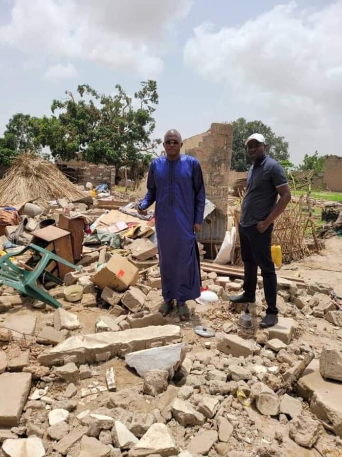 Dégâts des dernières pluies dans le département de Nioro : Le président Macky Sall envoie une délégation et dégage une enveloppe de 100 millions pour les sinistrés.