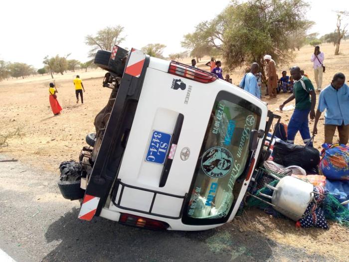 KADD BALOJI / 01 mort et 08 blessés dans un accident…