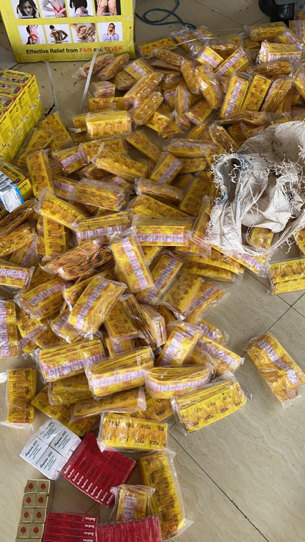 Kaolack : Saisie de faux médicaments d'une valeur de près de 63 millions de fcfa.