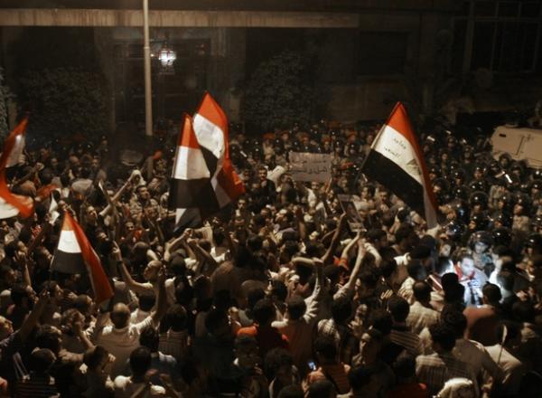 """L'ambassadeur égyptien """"fait le point sur la situation"""" dans son pays"""