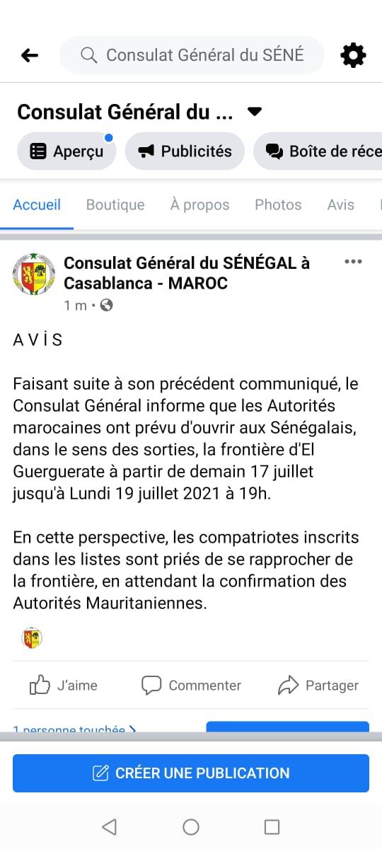 Diaspora et Tabaski : Fin de galère pour les ressortissants Sénégalais bloqués au Maroc (officiel)