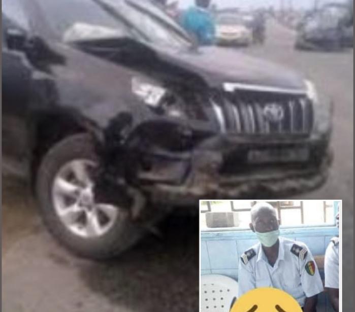 Mort tragique du policier Samba Biaye : La 4×4 incriminée retrouvée à Nianing... sans plaque ni chauffeur