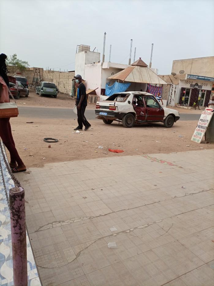 Mbour : Grave accident à Medssef entre un taxi clando et une moto…