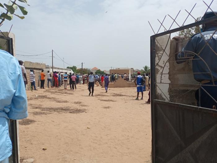 Mbour :  Levée du corps et inhumation du policier Samba Biaye, ces poignants témoignages sur le défunt.