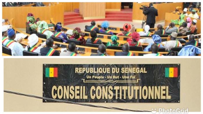 Recours pour l'annulation de la loi modifiant le Code pénal : Le Conseil constitutionnel déclare la tentative de l'opposition irrecevable