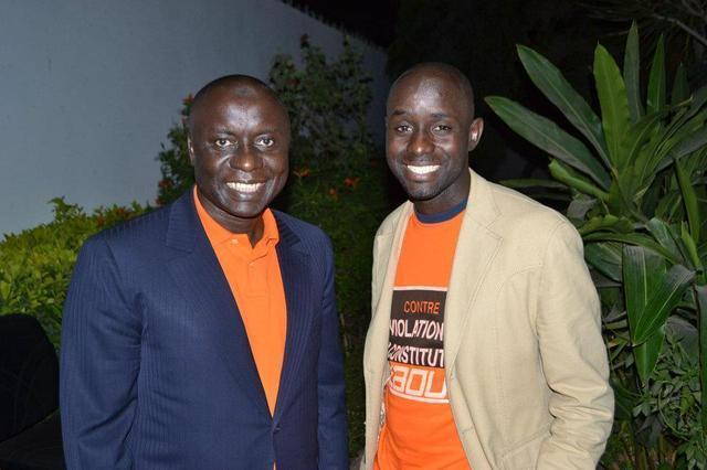 Idrissa Seck au chevet de Thierno Bocoum
