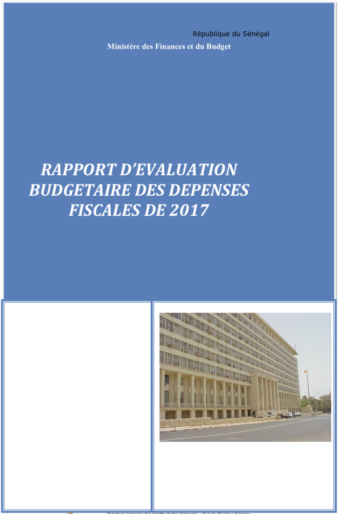 Dépenses fiscales : «677 milliards de francs CFA collectés, une hausse de 14 milliards par rapport à 2016» (Rapport 2017)