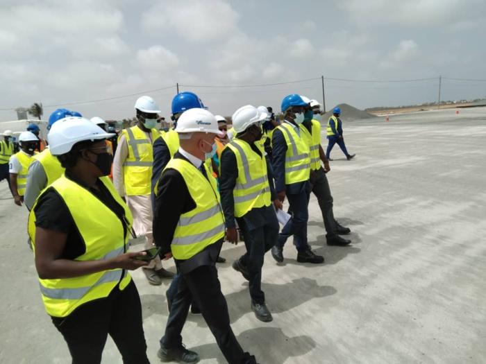 Travaux de réhabilitation de l'aéroport de Saint-Louis : Le ministre Alioune Sarr annonce la livraison en fin d'année 2021