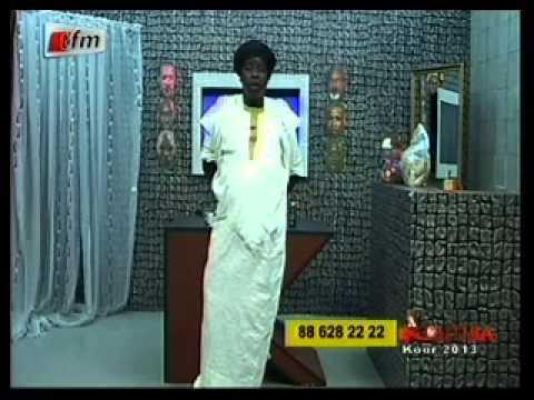 Kouthia Show - Kouthia raille le Ministre des Sports Mbagnick Ndiaye - 26 Août 2013