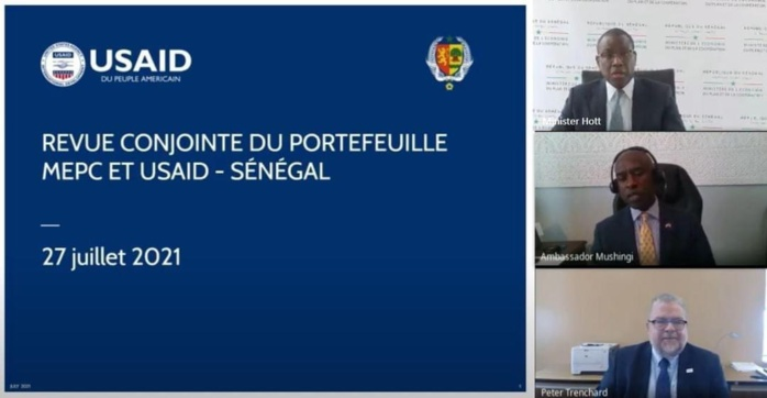 Revue conjointe du portefeuille de l'USAID au Sénégal : Quatre accords bilatéraux de 333 milliards de francs signés entre le gouvernement et l'USAID en début d'année. (Communiqué)