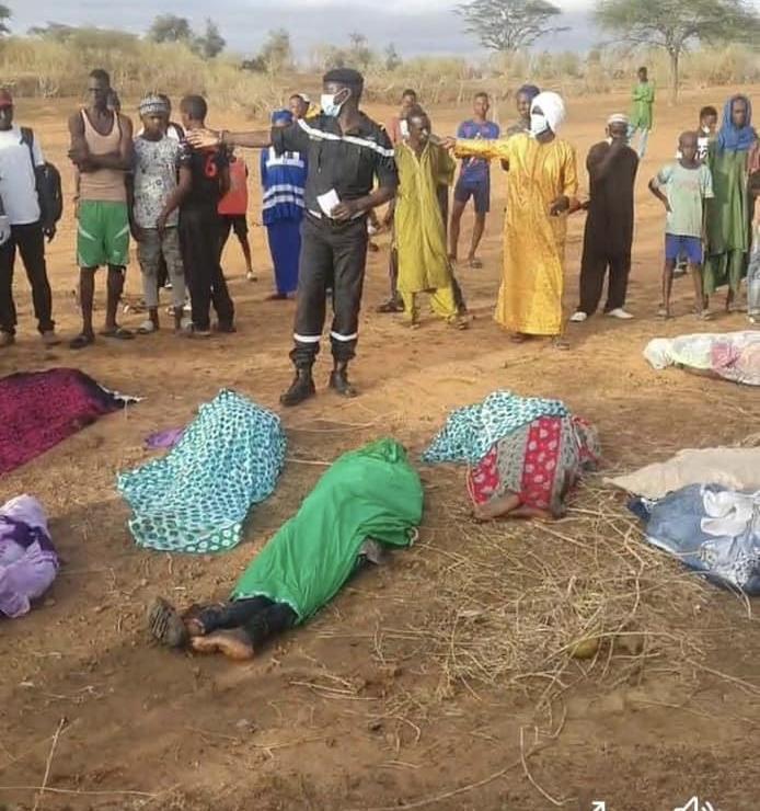 Podor : neuf morts dans un accident sur la Route nationale 2 entre Ndioum et Guédé Chantier