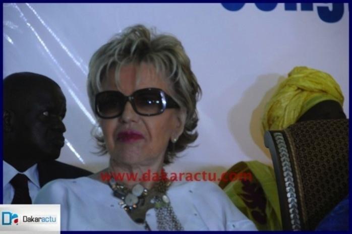 Viviane Wade à Dakar.