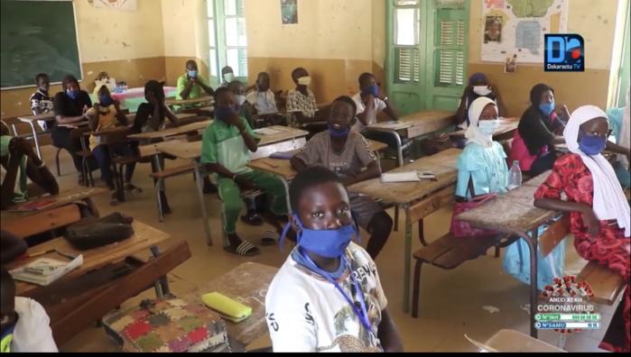 Résultats CFEE 2021 : À l'Académie de Diourbel, Mbacké est en tête avec un pourcentage de 68,09%.